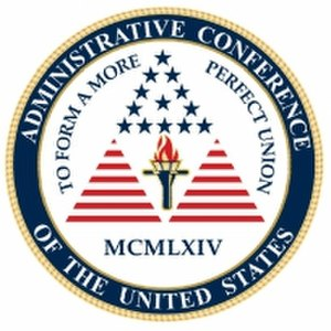 Administrative Conference of the United States - Image: Administrative Conference seal