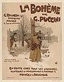 Advertisement for the music score of La Bohème, 1895 - Original.jpg