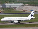 Aegean Airlines Airbus A320-232 SX-DVW at HEL 05JUN2015 01.JPG