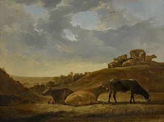 Cattle in a Dutch Arcadian Landscape