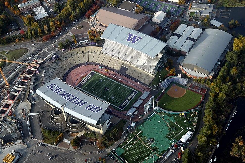 Aerial Husky Stadium November 2011 - 1