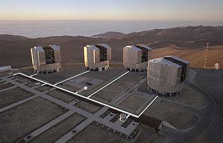 Very Large Telescope telescope in the Atacama Desert, Chile