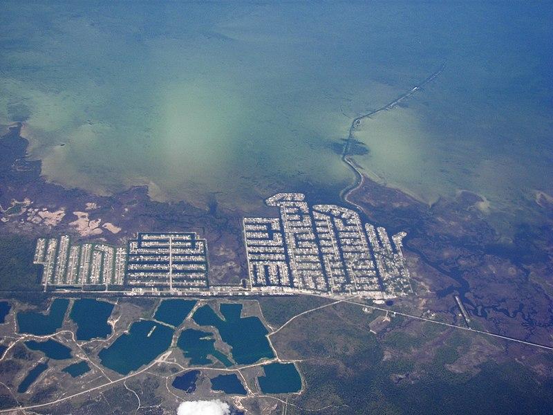 File:Aerial view of Hernando Beach, Florida.jpg