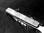 Aerial view of USS Matanikau (CVE-101) underway, circa 1944.jpg