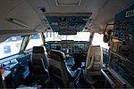 Aeroflot Il-96-300 cockpit Petrov.jpg