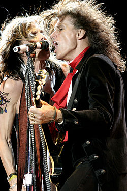 Aerosmith - Steven Tyler, Joe Perry