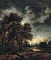 Aert van der Neer - Landschap bij maanlicht - 2509 (OK) - Museum Boijmans Van Beuningen.jpg