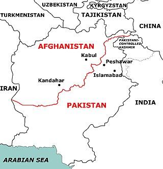 Durand Line Afghanistan–Pakistan border