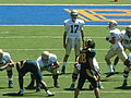 Aggies on offense at UC Davis at Cal 2010-09-04 7.JPG