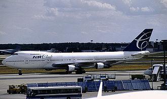 Air Club International - Air Club International Boeing 747-100 at Frankfurt Airport