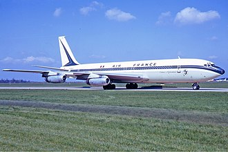 Air France Flight 007 - An Air France Boeing 707-328 similar to the one involved