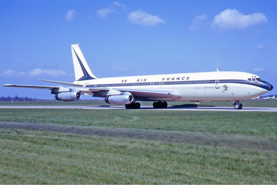 Air France Boeing 707-300 Manteufel