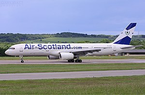 Air Scotland Boeing 757 Watt
