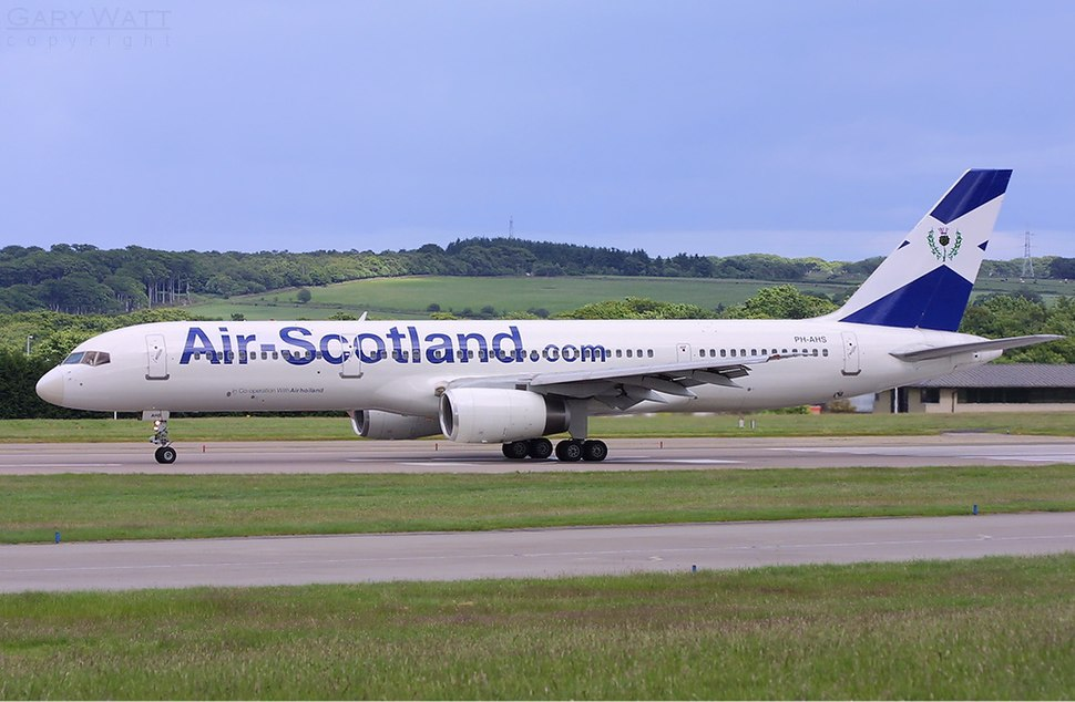 Air Scotland Boeing 757 Watt