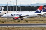 Air Serbia, YU-APC, Airbus A319-131 (20354030925).jpg
