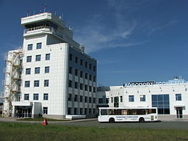 Airport Sovetsky. View from apron.JPG