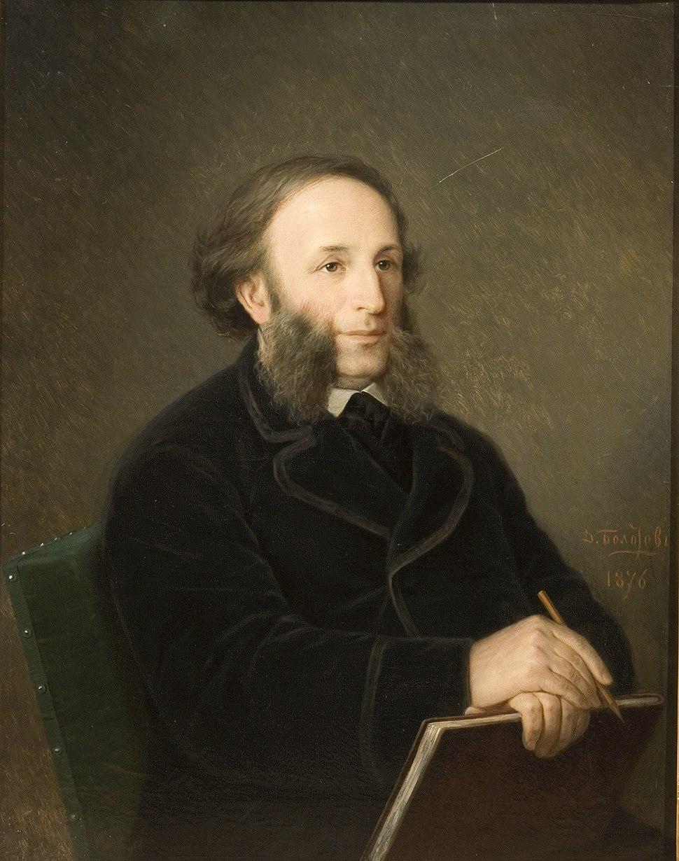 Aivazovsky by Bolotov, 1876