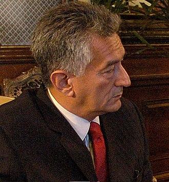 Argentine general election, 2011 - Alberto Rodríguez Saá, of Federal Commitment (CF)