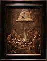 Alessandro magnasco, monaci che si scaldano al fuoco, 1725 ca. 01.JPG
