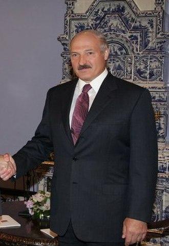 Belarusian presidential election, 2006 - Image: Alex Lukashenko