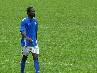 Alex Tayo Akande Nigerian-born Hong Kong footballer