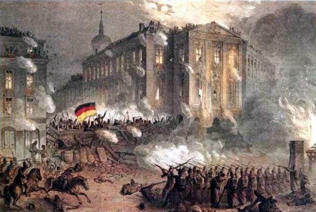 Alexanderplatz Berlin 1848