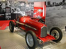 Photo d'une Alfa Romeo P3 de Grand Prix.