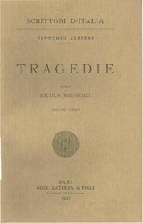Vittorio Alfieri: Tragedie