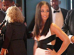 Alicia Keys at White House Correspondents Dinner