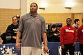 All-Star Game Weekend Robert Horry at Skill Clinic, NBA All-Star Weekend 2016 (24919709602).jpg