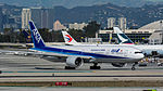All Nippon Airways Boeing 777 at LAX (22313042074).jpg