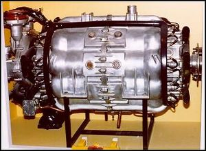 Axial engine - Almen A-4 barrel engine