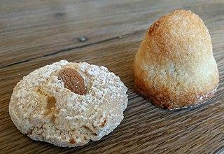 Macaroon type of cookie