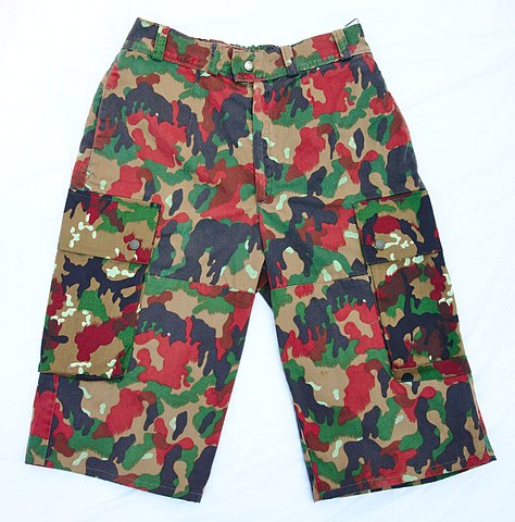 Cargo shorts By Andrew Toskin [CC BY 2.0 (http://creativecommons.org/licenses/by/2.0)], via Wikimedia Commons