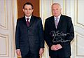 Amb Federico Cuello Presents Credentials to Czech President Vaclav Klaus 7 11 2006.jpeg