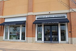 American Eagle Outfitters store Green Oak Village Place.JPG