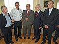 Amos Oz, Paul Auster, Salman Rushdie, Shimon Peres and Asaf Shariv (2885288345).jpg