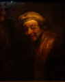 Amsterdam - Rijksmuseum - Late Rembrandt Exposition 2015 - Self-portrait as Zeuxis Laughing 1663.png