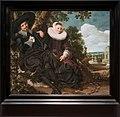 Amsterdam - Rijksmuseum 1885 - Gallery of Honour (1st Floor) - Married Couple in a Garden c. 1622 by Frans Hals.jpg