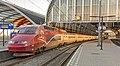 Amsterdam Centraal TGV-PBA 4533 Thalys 9334 Paris-Nord (39552584062).jpg
