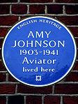 Amy Johnson 1903-1941 Aviator lived here.jpg