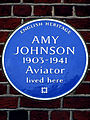 Amy Johnson 1903-1941 Aviator lived here.jpg