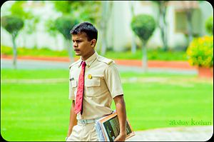 Armed Forces Medical College (India) - An AFMC medical cadet