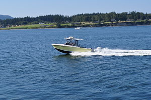 Anacortes - boat on Guemes Channel 01.jpg