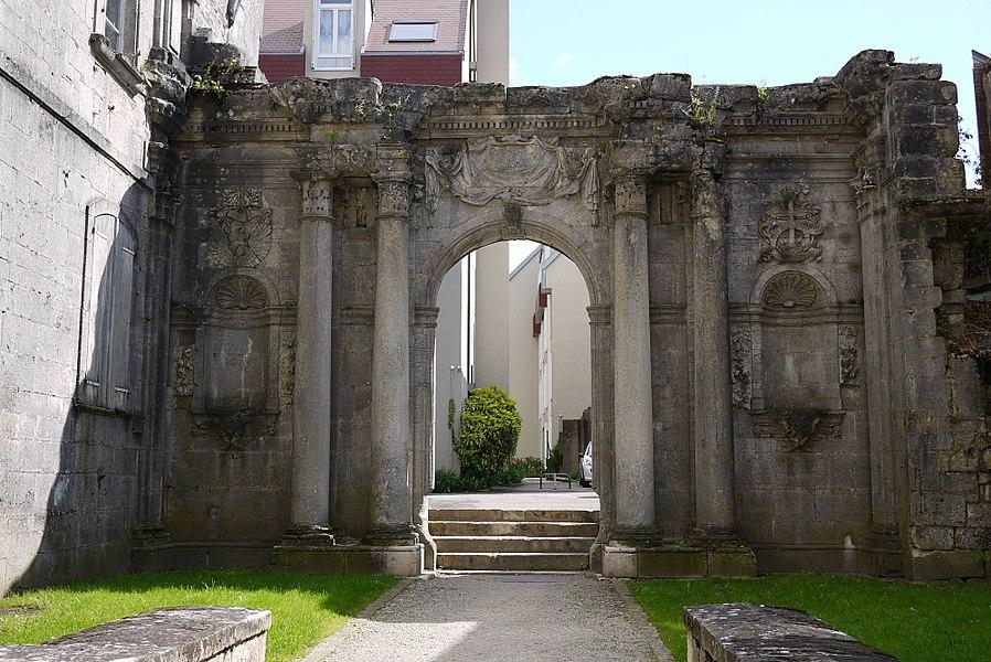 Ancienne chapelle du couvent des Ursulines.1670-1680