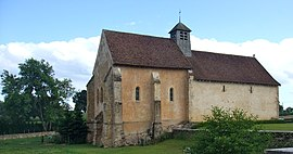 The old church of Anizy, in Limanton
