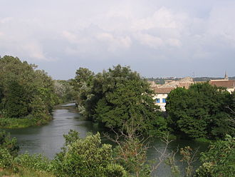 Ancône - The river in Ancône