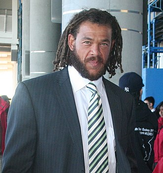 Andrew Symonds - Symonds in Sydney, Australia in 2008.