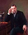 Andrey Karelin (1837-1906). Portrait of Nikolay Vasilyev (1894).jpg