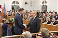 Andrzej Duda Michał Seweryński I posiedzenie Senatu IX kadencji.JPG